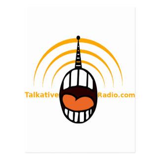 Radio habladora tarjetas postales