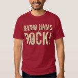 'Radio Hams Rock!' Mens T-Shirt (Dark)