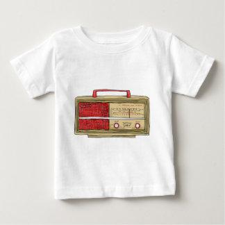 radio hand drawn baby T-Shirt