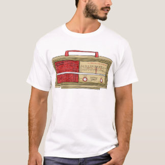 radio hand drawn T-Shirt
