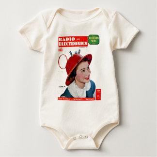 Radio Hat Baby Bodysuit