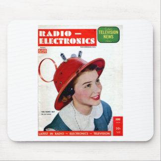 Radio Hat Mouse Pad