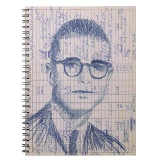Radio Head #1 Colored Pencil Ham Radio Log Book