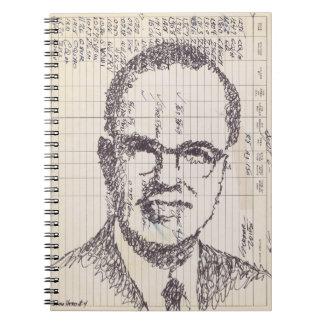 Radio Head #4 Ink Drawing Ham Radio Log Book