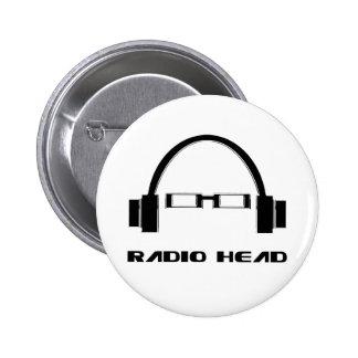 Radio Head 2 Inch Round Button