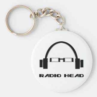 Radio Head Keychain