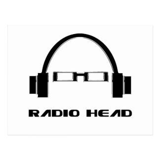 Radio Head Postcard