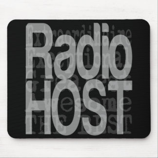 Radio Host Extraordinaire Mouse Pad