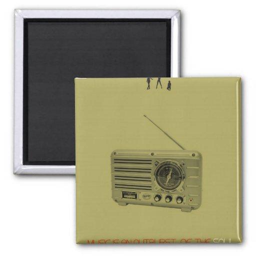 Radio Imán De Frigorífico