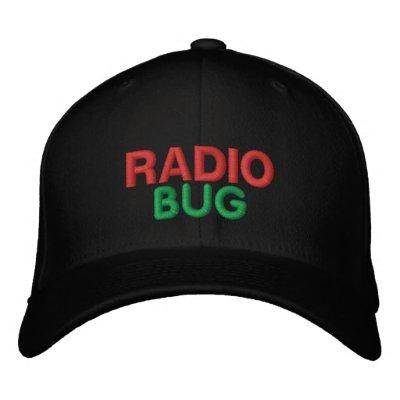 RADIO, INSECTO GORRA DE BÉISBOL