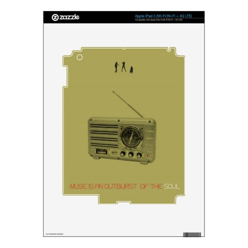 Radio iPad 3 Skin