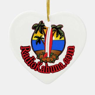Radio Kahuna Internet Radio Promotional Items Ceramic Ornament