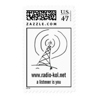 Radio KoL Postage Stamp