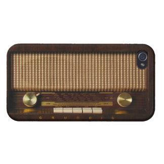 Radio lista del vintage del iPhone 4 iPhone 4 Fundas
