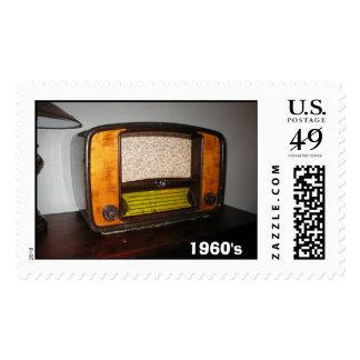 Radio, los años 60 franqueo