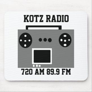 radio mouse pad