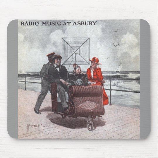 Radio Music at Asbury Mouse Pad