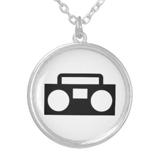 Radio Music Personalized Necklace