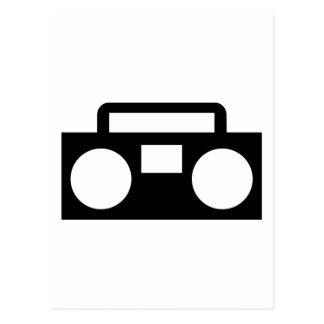 Radio Music Postcard