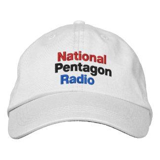 Radio nacional de Pentágono Gorros Bordados