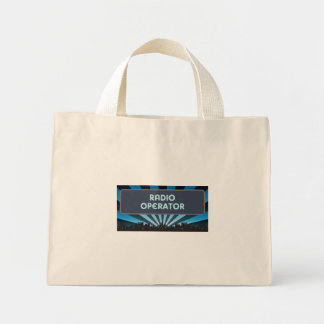 Radio Operator Marquee Canvas Bags