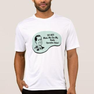 Radio Operator Voice T-Shirt