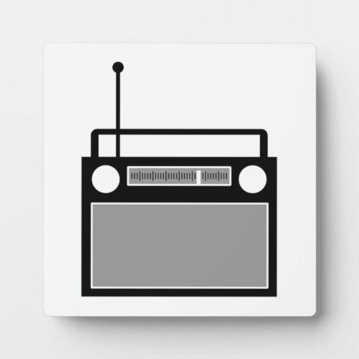 Radio Placas Con Fotos