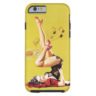 Radio Play Pin Up Tough iPhone 6 Case