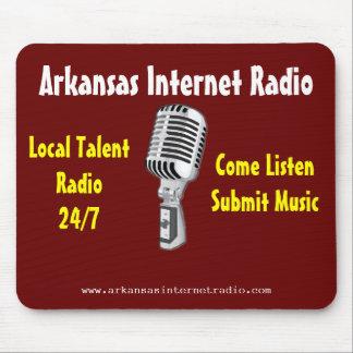 Radio por internet de Arkansas - cojín de ratón de Tapete De Ratones