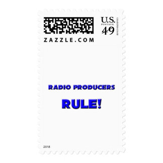Radio Producers Rule! Stamps