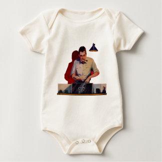 Radio Repair Baby Bodysuit