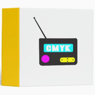 Radio retra portátil de CMYK