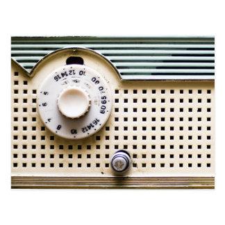 Radio retra tarjetas postales