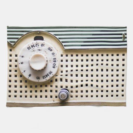 Radio retra toallas de mano