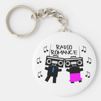 Radio Romance Keychain