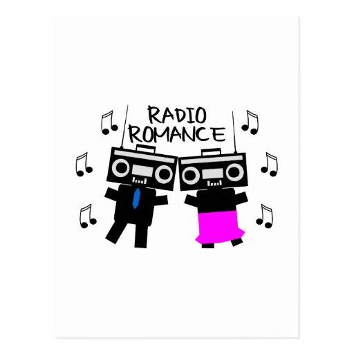 Radio Romance Post Card