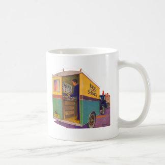 Radio Service Truck Classic White Coffee Mug