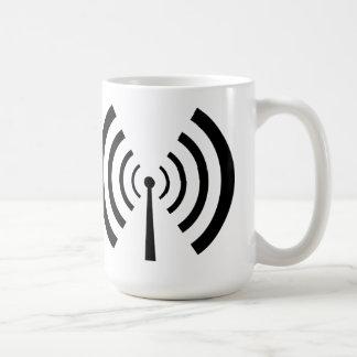 Radio Signal Bars Coffee Mug
