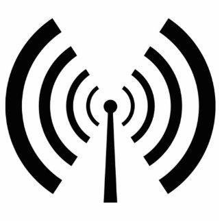 Radio Signal Bars Cutout