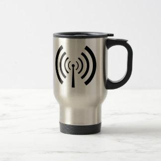 Radio Signal Bars Travel Mug