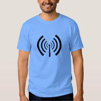 Radio Signal Bars Tshirt