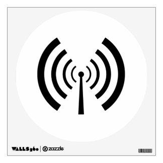 Radio Signal Bars Wall Sticker