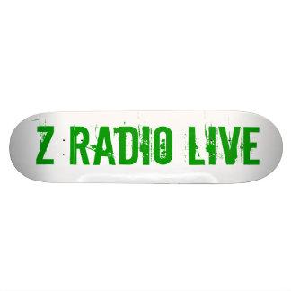 "Radio Skatebored vivo de Z Patineta 8 1/8"""