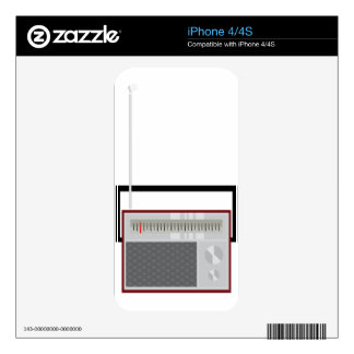 Radio Skin For The iPhone 4S