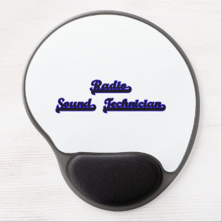 Radio Sound Technician Classic Job Design Gel Mouse Pad