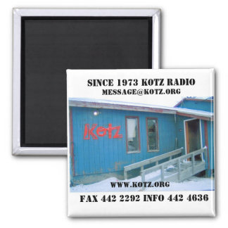 RADIO STATION  (2), SINCE 1973 KOTZ RADIO, FAX ... MAGNET
