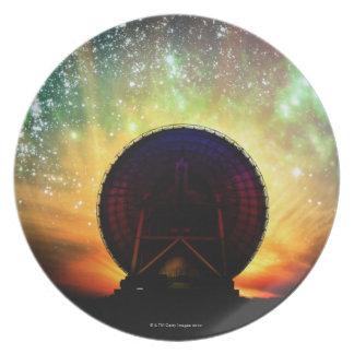 Radio Telescope Plate