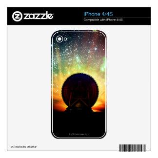 Radio Telescope Skins For iPhone 4S