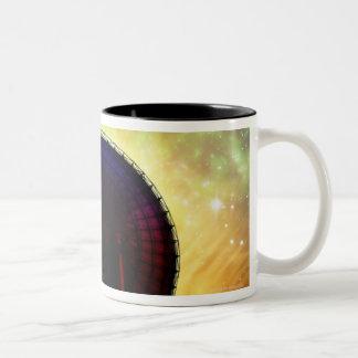 Radio Telescope Two-Tone Coffee Mug