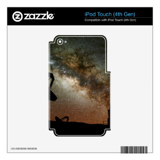 Radio Telescopes and Milky Way Decal For iPod Touch 4G